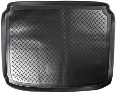 Коврик в багажник для Peugeot 308 '08-13 хетчбэк, полиуретановый (NorPlast) черный