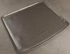 Коврик в багажник для BMW X6 E71 '08-14, полиуретановый (NorPlast) черный
