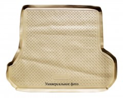Коврик в багажник для Infiniti M (Q70) '11-, полиуретановый (Novline) бежевый EXP.999TLY51BG