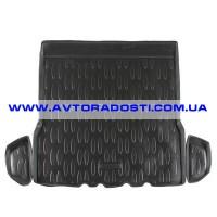 Коврик в багажник для Renault Logan '04-12, полиуретановый (Aileron)