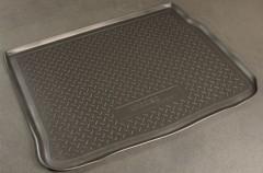 Коврик в багажник для Renault Scenic '03-08, полиуретановый (NorPlast) черный