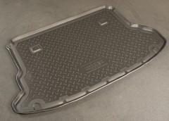 Коврик в багажник для Hyundai Tucson '03-09, полиуретановый (NorPlast) черный