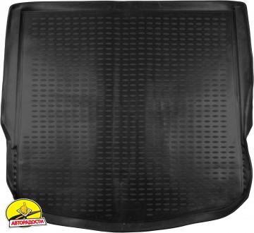 Коврик в багажник для Ford Mondeo '07-14 хетчбэк, полиуретановый (Novline) черный EXP.NLC.16.18.B11