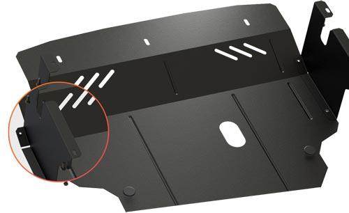 Дополнительная защита на двигатель от грязи пыли и влаги - Кольчуга
