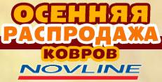 Грандиознная осенняя распродажа автомобильных ковриков Novline