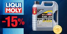 Моторное масло LIQUI MOLY Top Tec 4100 5W-40 4 л. со скидкой 15%