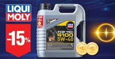 Скидка -15% на 4-х литровое моторное масло LIQUI MOLY Top Tec 4100!