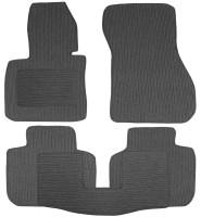 Коврики в салон для BMW X1 F48 '15- текстильные, темно-серые (Корона)