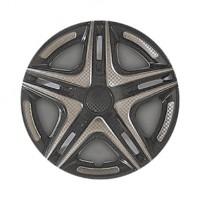 Колпаки на колеса R14 Дакар Super Black, комплект 4 шт. (Star)