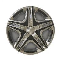 Колпаки на колеса R13 Дакар Super Silver, комплект 4 шт. (Star)