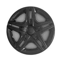 Колпаки на колеса R13 Дакар черный, комплект 4 шт. (Star)
