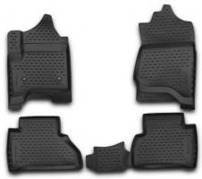 Коврики в салон 3D для Cadillac Escalade '14- полиуретановые, (Novline / Element)