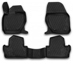 Коврики в салон 3D для Volvo S60 '13- полиуретановые (Novline / Element)