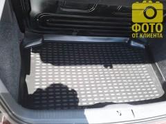 Коврик в багажник для Volkswagen Polo '02-09 хетчбэк, полиуретановый (Novline / Element) черный