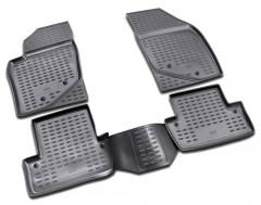 Коврики в салон для Volvo S60 '00-10 полиуретановые, черные (Novline / Element)