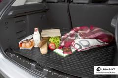 Фото 3 - Коврик в багажник для Suzuki Vitara '15-, верхний, полиуретановый (Novline / Element) черный