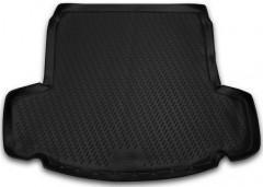 Коврик в багажник для Chevrolet Captiva '06-, длинный, полиуретановый (Novline / Element) черный EXP.NLC.08.07.B13