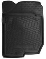 Коврик в салон водительский для Kia Carens '07-12 резиновый, черный (AVTO-Gumm)