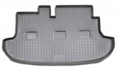 Коврик в багажник для Hyundai H-1 '97-07, короткий, полиуретановый (Novline / Element) черный