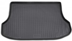 Коврик в багажник для Kia Sorento '03-09 BL, полиуретановый (Novline / Element) черный