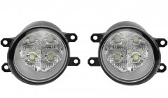Противотуманные фары для Toyota Avensis '08-15 комплект, светодиодные (Dlaa)