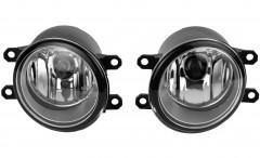 Противотуманные фары для Toyota Corolla '07-12 комплект без решеток (Dlaa)