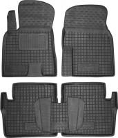 Коврики в салон для Toyota RAV4 '01-06 резиновые, черные (AVTO-Gumm)