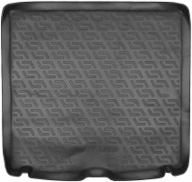 Коврик в багажник для BMW 5 F11 '13-16, универсал, резино/пластиковый (Lada Locker)
