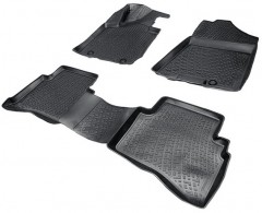 Коврики в салон 3D для Hyundai Tucson '15- резиновые (Lada Locker)