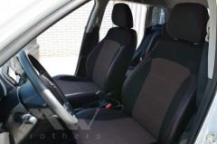 Авточехлы Premium для салона Suzuki Vitara '15-, красная строчка (MW Brothers)