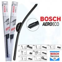 Фото товара 2 - Щетки стеклоочистителя бескаркасные Bosch AeroEco 600 и 470 мм. (набор)