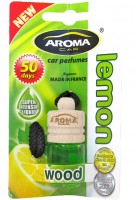 """Ароматизатор Aroma Car """"Wood"""" lemon"""