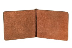 Фото товара 2 - Зажим для денег коричневый Ford