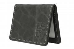 Обложка для прав/тех.паспорта черная 211510 Porsche