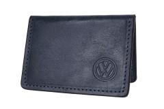 """Обложка для прав/тех.паспорта черная """"Volkswagen"""" 211510"""