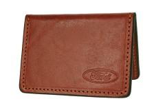 Обложка для прав/тех.паспорта коричневая Ford