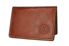"""Обложка для прав/тех.паспорта коричневая """"Volkswagen"""""""