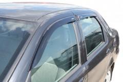 Дефлекторы окон для Fiat Albea '02-11, седан (Azard Corsar)