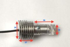 Фото 4 - Дневные ходовые огни в поворотники TDRL 4 Optimum (с функцией габаритов) для Acura MDX '06-13 (ProBright)