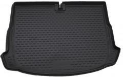 Коврик в багажник для Volkswagen Scirocco '09-17 полиуретановый (Novline / Element) черный