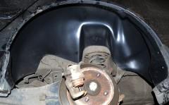 Фото 4 - Подкрылок задний левый для Mitsubishi Lancer 9 '04-09 (Nor-Plast)