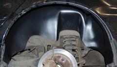 Фото 7 - Подкрылок задний левый для Mitsubishi Lancer 9 '04-09 (Nor-Plast)