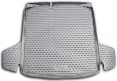 Коврик в багажник для Skoda Fabia II '07-14 универсал, полиуретановый (Novline / Element) черный