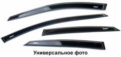 Дефлекторы окон для Chevrolet Lacetti '04-12, универсал (Azard)