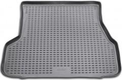 Коврик в багажник для Hyundai Accent '01-05 седан, полиуретановый (Novline / Element) серый