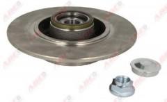 Комплект задних тормозных дисков ABE C4R026ABE (2 шт.)