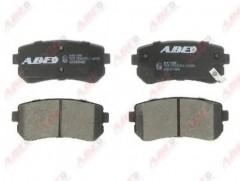 Тормозные колодки задние ABE C20308ABE, дисковые