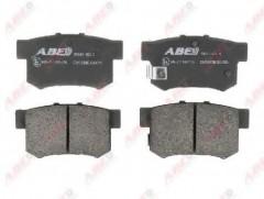 Тормозные колодки задние ABE C24005ABE, дисковые