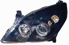Фара передняя для Opel Vectra C '06-08 левая (DEPO) черн. Н7+Н1 442-1148L-LDEM2