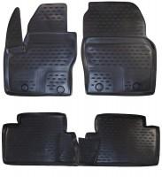 Коврики в салон для Ford C-Max '11- полиуретановые, черные (Novline / Element)